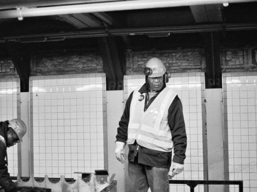 NYC Subway Worker